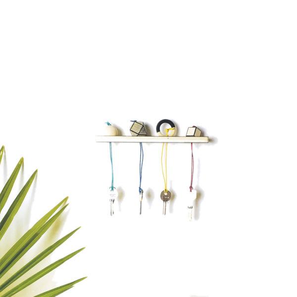 Kit porte clés original - Fabriquer vous même votre porte clés mural - Kit porte clés murale - kit diy - Kitik