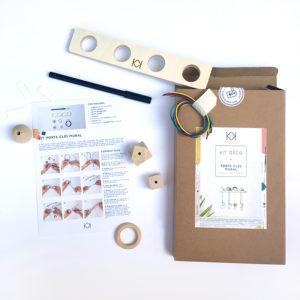 Kit porte clés original - Fabriquer vous même votre porte clés mural - kitik - Porte clés fait maison