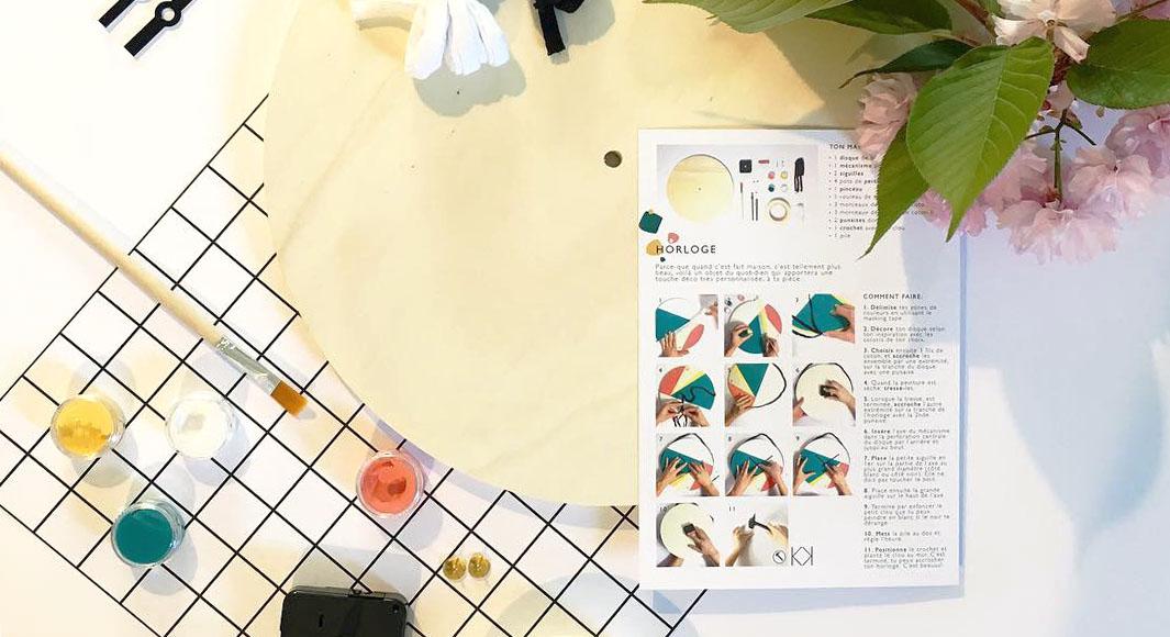 Atelier créatif à domicile, Box loisirs créatifs, Kit déco éco-responsable - kitik