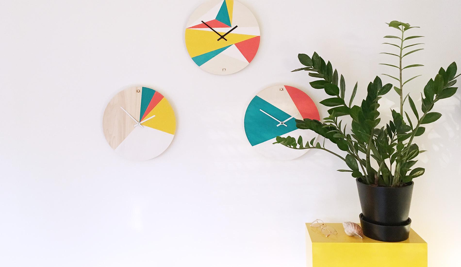 Kit horloge à fabriquer - Kit créatif déco - Horloge DIY à faire soi-même - kitik
