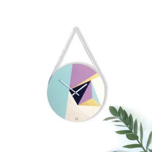 Kit horloge en bois - Horloge murale à faire soi-même - Kit créatif horloge - kitik