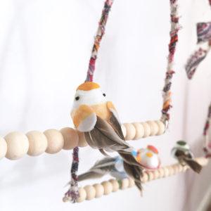 Kit perchoirs à oiseaux - Kit DIY déco enfant - Idée cadeau créatif enfant - kitik